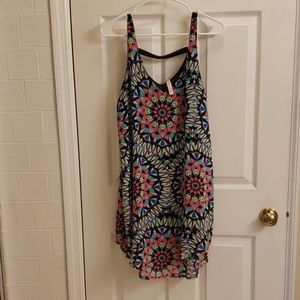 Xhileration printed dress LARGE